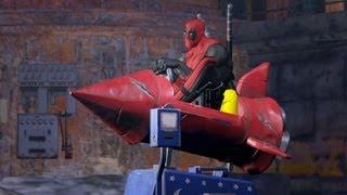 getlinkyoutube.com-Top 10 Deadpool Funny Moments From Deadpool The Game [#1]