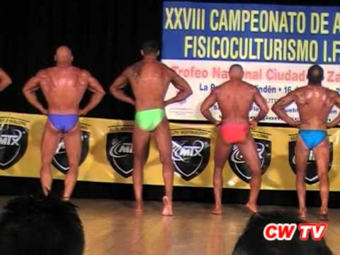 XXVIII Campeonato de Aragón FEFF/IFBB 2012 (1ª parte)