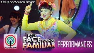 "getlinkyoutube.com-Your Face Sounds Familiar: Melai Cantiveros as Jolina Magdangal - ""Chuva Choo Choo"""