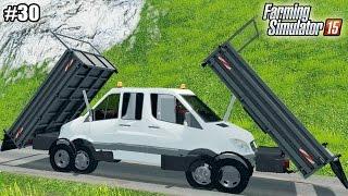 getlinkyoutube.com-Farming Simulator 15 моды: Mercedes-Benz Sprinter и Комбайн CLAAS JAGUAR 980  (30 серия) (1080р)