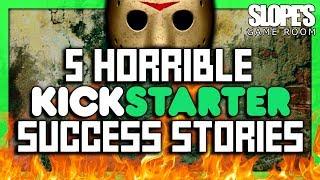 5 Horrible Kickstarter Success Stories - SGR
