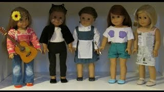 getlinkyoutube.com-(Last Minute) Easy DIY Halloween Costumes for your AG Doll