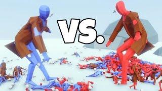 Chicken Man Man vs Chicken Man Man! - Totally Accurate Battle Simulator Sandbox Gameplay