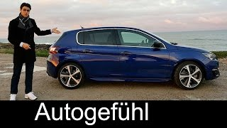 getlinkyoutube.com-2015 All-new Peugeot 308 GT 205 hatch test drive REVIEW (+ 308 SW)- Autogefühl