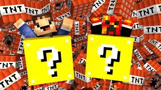getlinkyoutube.com-Minecraft Modded Minigame: LUCKY BLOCK RACE 4! - (Lucky Block Mod)