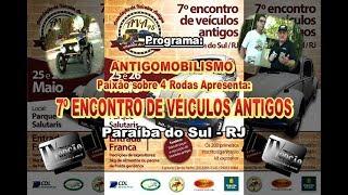 7º Encontro AVA Paraíba do Sul-RJ