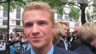Freddie Stroma at the London Premiere of Harry Potter and the Half-Blood Prince Pt.3