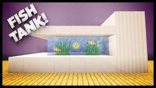 getlinkyoutube.com-Minecraft - How To Build A Fish Tank