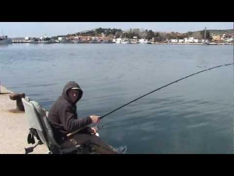 ψαρεμα  κεφαλου με  εγγλεζικο