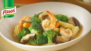 """getlinkyoutube.com-""""ผัดผักรวมมิตรกุ้ง"""" เมนูอร่อยง่าย ทำเองได้ไม่ยาก"""
