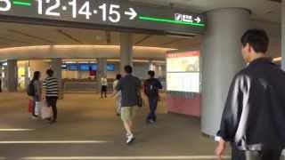 getlinkyoutube.com-2013.9.20 KE002 成田空港 大韓航空で仁川 インチョンへ 1