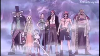 getlinkyoutube.com-One Piece Moment The strawhat pirates saw their love ones