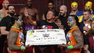 getlinkyoutube.com-WWE Superstars and Diva wish WWE Network a happy birthday