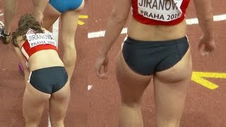 getlinkyoutube.com-Helena Jiranova 2015, post Denisa Rosolova? Lovely Czech 400m runner