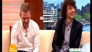 getlinkyoutube.com-Minecraft's Stampy Longnose And Squid On Good Morning Britain  Interview  26/5/2014