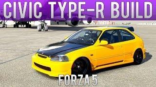 getlinkyoutube.com-Forza Motorsport 5 - Drift Build - V6 Honda Civic Type-R