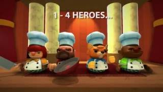 Overcooked - Co-op Káosz Trailer