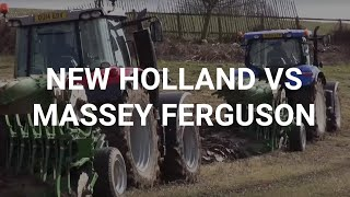 getlinkyoutube.com-New Holland vs Massey Ferguson Tractor Test, March 2015