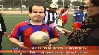 A las Once- Selección de fútbol de invidentes- 11/09/13