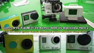 getlinkyoutube.com-GoPro 4 Vs Xiaomi Yi Vs Amkov 5000 Vs BlackView Hero 2