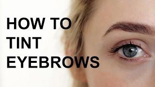 getlinkyoutube.com-How To Tint Eyebrows At Home