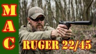 getlinkyoutube.com-Ruger MkIII 22/45 .22 Pistol