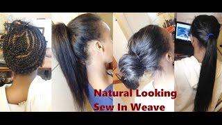 getlinkyoutube.com-How to-Natural Looking Sew In Weave