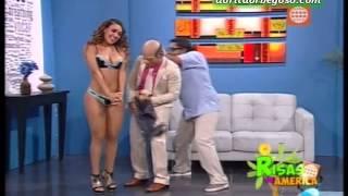"""Dorita Orbegoso en """"El Doctor Marrulo"""" de """"Risas de America"""" [06-04-2013]"""