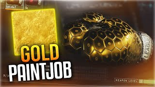 """GOLD PRIZEFIGHTERS BOXING GLOVES! - """"Gold Camo"""" PAINTJOB TUTORIAL! (BO3 Gold Camo Paint Job)"""