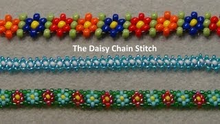 getlinkyoutube.com-Beaded Daisy Chain Stitch Tutorial