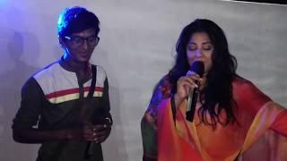 Mousumi is performing with MagicSing Bangla Karaoke
