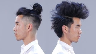 getlinkyoutube.com-1 Man + 12 Hairstyles