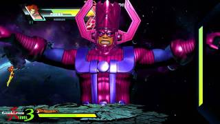 getlinkyoutube.com-Galactus play through Ultimate Marvel VS Capcom 3 [Gouki.com Exclusive]