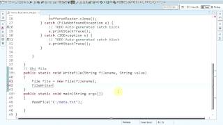 [LT Android] Bài 3.2: Read & Write File In Java
