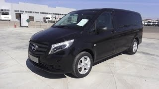 getlinkyoutube.com-2016 Mercedes-Benz Vito Tourer Select 116 CDI Bluetec 4Х4. Start Up, Engine, and In Depth Tour.