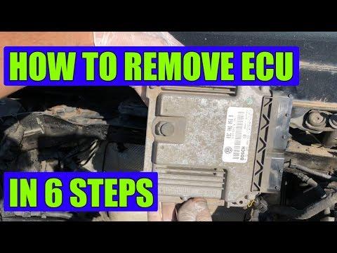 TUTORIAL: VW Golf Mk5, Rabbit, Jetta ECU/ECM removal in 6 simple steps