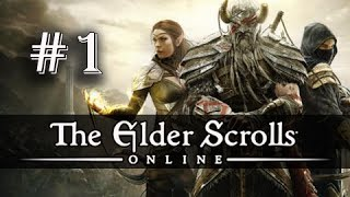 getlinkyoutube.com-The Elder Scrolls Online Gameplay Walkthrough Part 1 - Imperial Dragonknight (ESO PC Ultra)