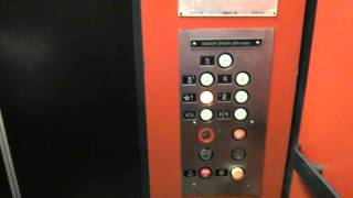getlinkyoutube.com-Filmer765 Gets to experience the excitement of the stop switch on a US elevator