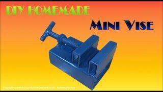 getlinkyoutube.com-[DIY Homemade] How To Make MINI VISE simple