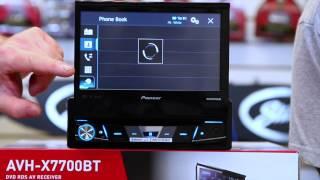 getlinkyoutube.com-The new 2015 Pioneer AVH x7700BT fold out radio