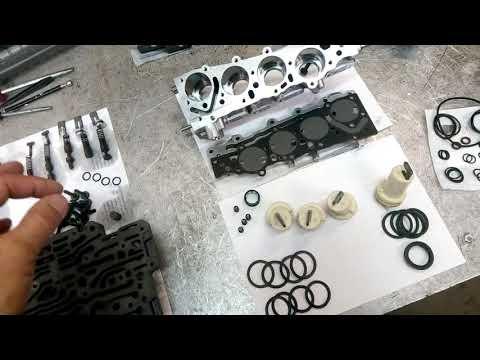 Ремонт трансмиссии DSG Audi Q5. Мехатроник. Часть 4.
