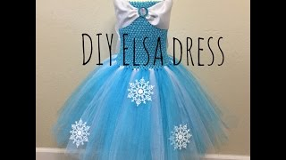 getlinkyoutube.com-How to make an Elsa tutu dress