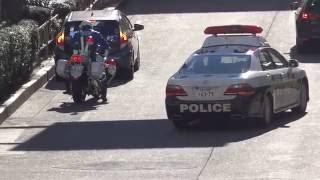 getlinkyoutube.com-パトカーをブチ抜いて違反車を捕まえる白バイ