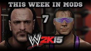 WWE 2K15 PC Mods Week 7: Sabu, Bret Hart, and Giant Tutorials!