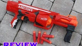 getlinkyoutube.com-[REVIEW] Nerf N-Strike Mega Rotofury Blaster Unboxing, Review, & Firing Test