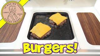 getlinkyoutube.com-Big Burger Grill, Mini Cheeseburgers & Grilled Cheese!