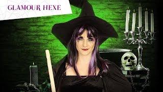 getlinkyoutube.com-Glamour Hexe Halloween Make-Up Tutorial