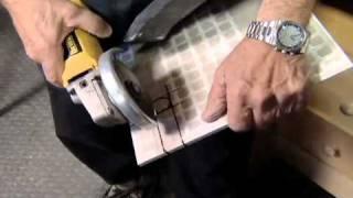 getlinkyoutube.com-How to Make Holes in Ceramic Tile