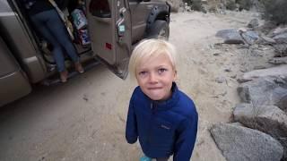 getlinkyoutube.com-Offroad Earthroamer - Berdoo Canyon - Joshua Tree (Nomad Yoga Family)
