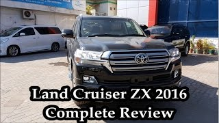 2016 Toyota Land Cruiser ZX| Complete Review| Startup| Pakistan